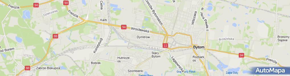 Zdjęcie satelitarne Urszula Szołtysik - Działalność Gospodarcza