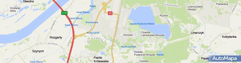 Zdjęcie satelitarne Usługi Budowlane Mal Bud Babiuch Andrzej