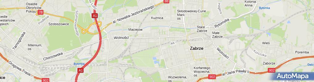 Zdjęcie satelitarne Usługi Budowlane