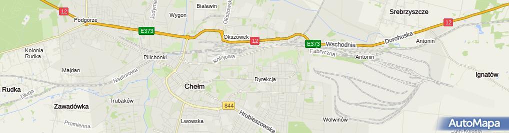 Zdjęcie satelitarne Usługi Finansowe Agnieszka Piętak
