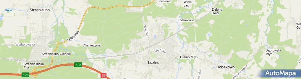 Zdjęcie satelitarne Usługi Komunalno - Transportowe Budowa Pojazdów Eko - Logistik Dariusz Gruba