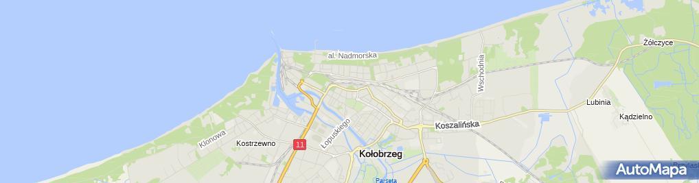 Zdjęcie satelitarne Usługi Lektorskie