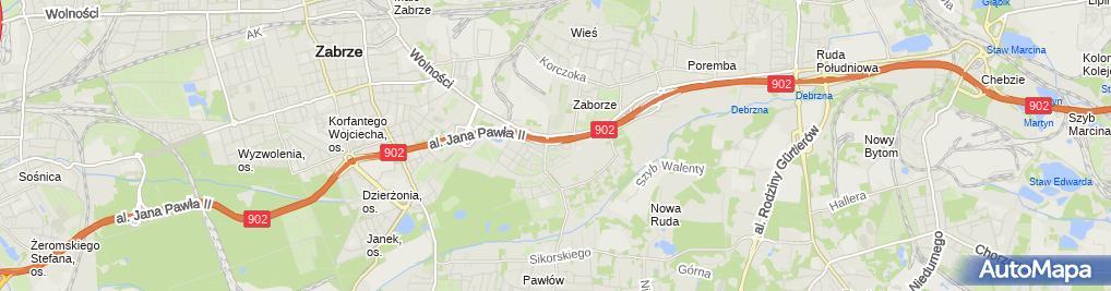 Zdjęcie satelitarne Usługi Murarskie Andrzej Wróbel