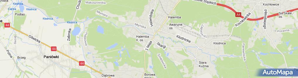 Zdjęcie satelitarne Usługi Paramedyczne Oraz Handel Ziołami