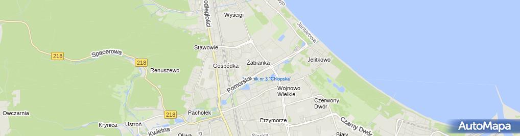 Zdjęcie satelitarne Usługi Pielęgniarskie - Monika Łuczak