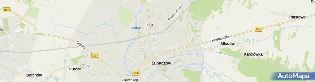Zdjęcie satelitarne Usługi Plastyczne Maria Kropiowska
