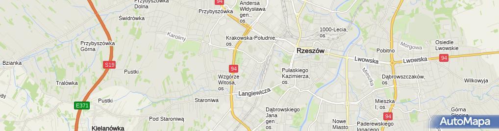Zdjęcie satelitarne Usługi Projektowe