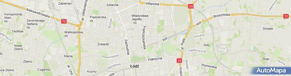 Zdjęcie satelitarne Usługi Psychologiczne Szkolenia Superwizje