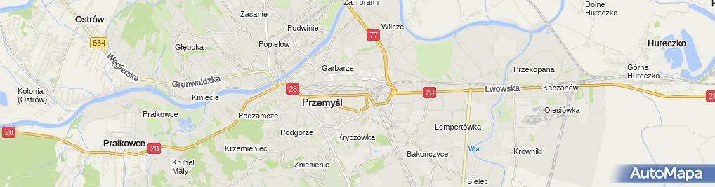 Zdjęcie satelitarne Usługi Remontowo-Budowlane Mariusz Witko