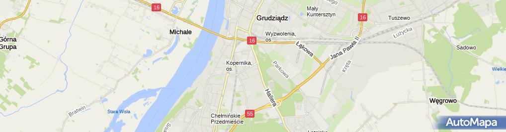 Zdjęcie satelitarne Usługi Spawalniczo - Monterskie Mar Marcin Chojnowski