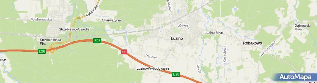 Zdjęcie satelitarne Usługi Stolarskie Piotr Gruba