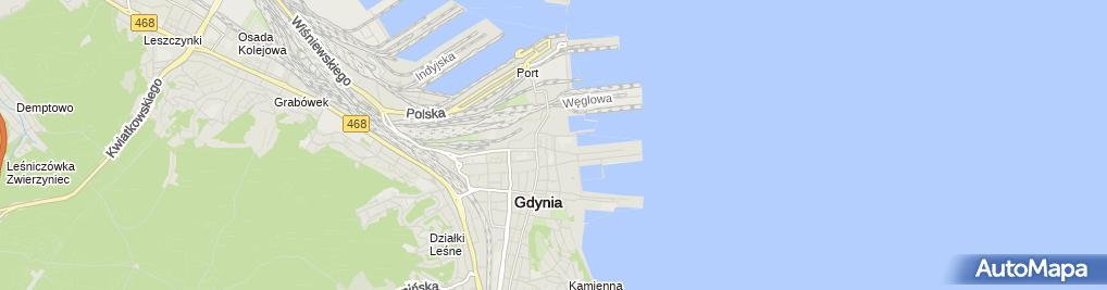 Zdjęcie satelitarne Usługi Turystyczno-Consultingowe La Puerta Dorada Luis Aguirre F