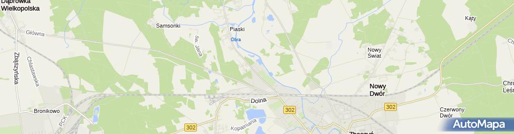 Zdjęcie satelitarne Usługowy Zakład Stolarski Leszek Szott