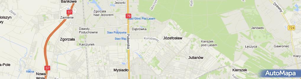 Zdjęcie satelitarne Vademecum 2 Orlik Danuta Orlik Paweł