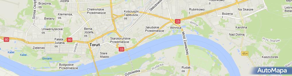 Zdjęcie satelitarne Vanner Ciak Magdalena Sabatowski Jakub Tułodziecki Bartosz