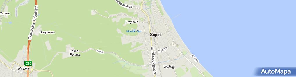 Zdjęcie satelitarne Vemco