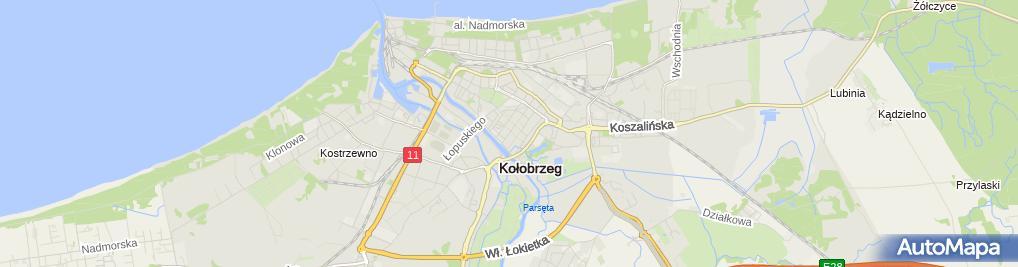 Zdjęcie satelitarne w Filiżance Cafe Julia Krotoszyńska
