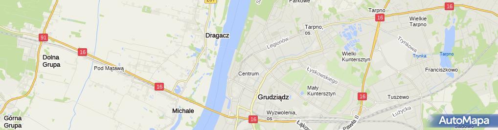 Zdjęcie satelitarne W & PK Markot Wiesław Mielniczek Piotr Mielniczek Krzysztof