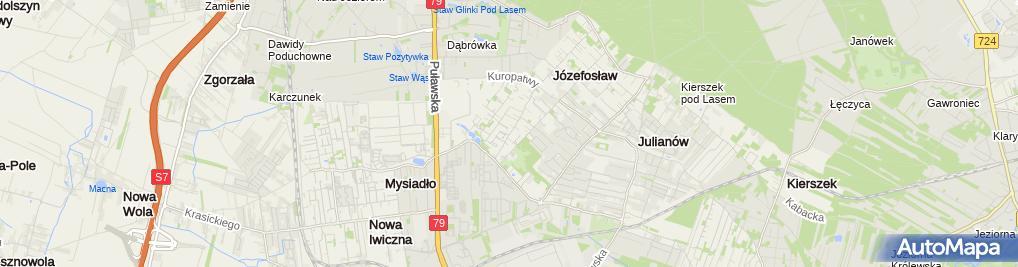 Zdjęcie satelitarne w & w Telecom Maciej Wagner Zyta Wagner