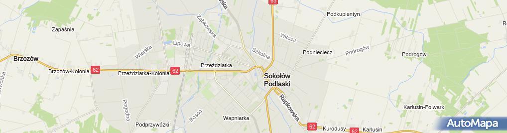 Zdjęcie satelitarne WAB