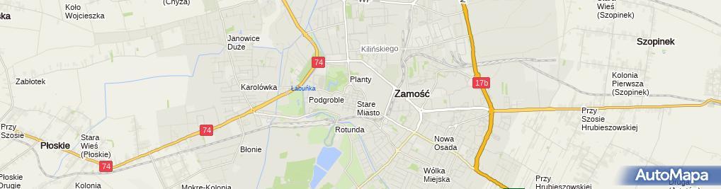 Zdjęcie satelitarne Wacław Ignaciuk - Działalność Gospodarcza
