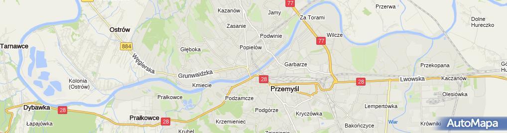 Zdjęcie satelitarne Wacław Rosicki Studio Reklamy i Grafiki Komputerowej Wer