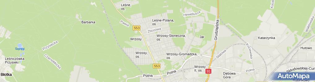 Zdjęcie satelitarne Walczewski Grzegorz Waltor Meble Firma Usługowa