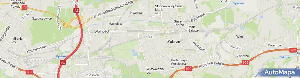 Zdjęcie satelitarne Waldemar Runowski - Działalność Gospodarcza