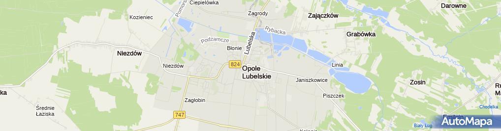 Zdjęcie satelitarne Walencik Andrzej Rowery od A do z Handel - Usługi