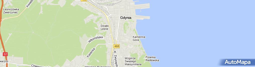 Zdjęcie satelitarne Wayman