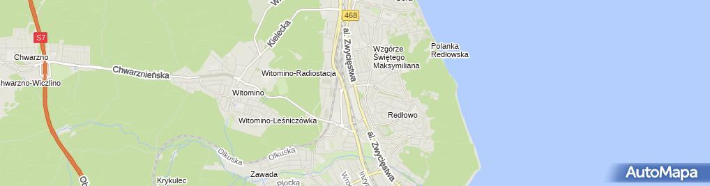 Zdjęcie satelitarne Web24.com.pl sp. z o.o.