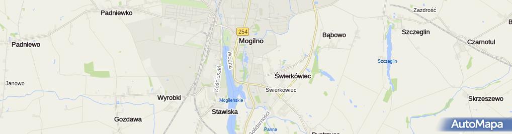 Zdjęcie satelitarne Weni Doradztwo i Konsulting Joanna Majchrzak