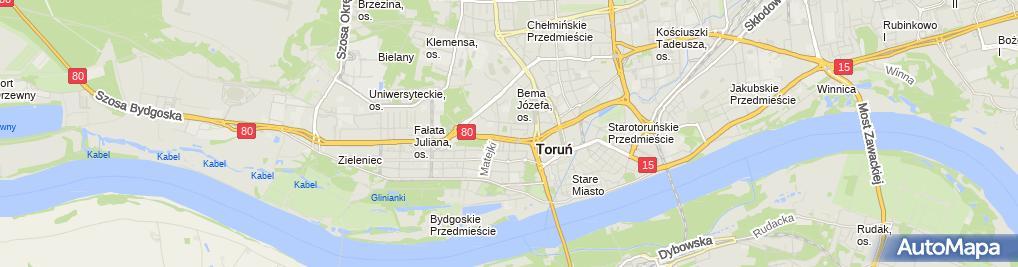 Zdjęcie satelitarne Wieczorek Leszek