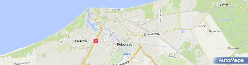 Zdjęcie satelitarne Wiejska Chata U Beaty