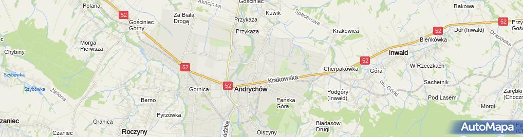 Zdjęcie satelitarne Wiesław Jabłoński - Działalność Gospodarcza