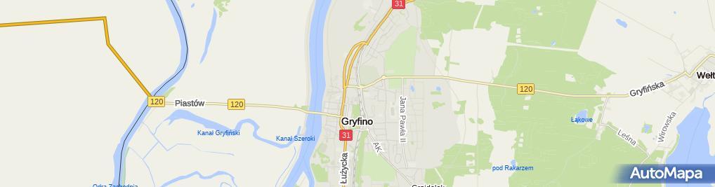 Zdjęcie satelitarne Wiesław Kokosza - Działalność Gospodarcza