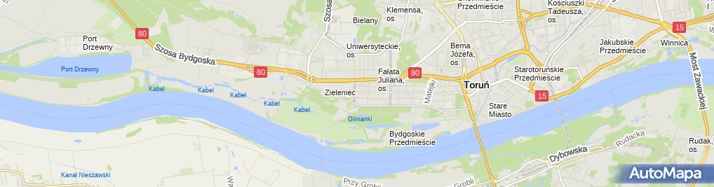 Zdjęcie satelitarne Wiesław Urbanowicz Zakład Usługowo-Handlowy Orion