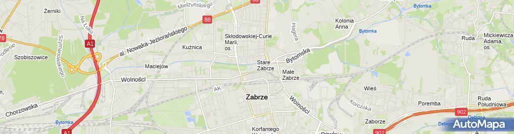 Zdjęcie satelitarne Wiktor Siwiński