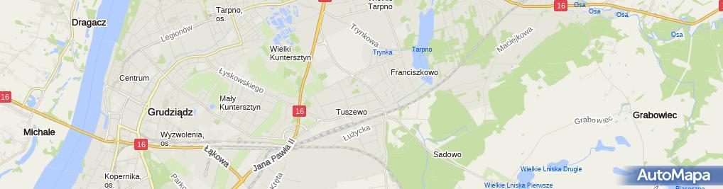 Zdjęcie satelitarne Wisniewska Hanna