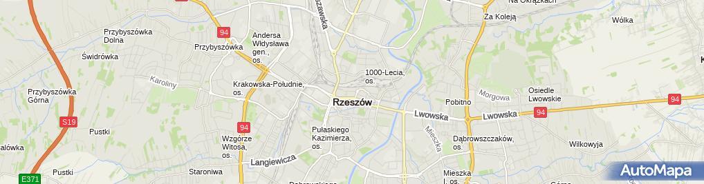 Zdjęcie satelitarne Witold Demus - Działalność Gospodarcza