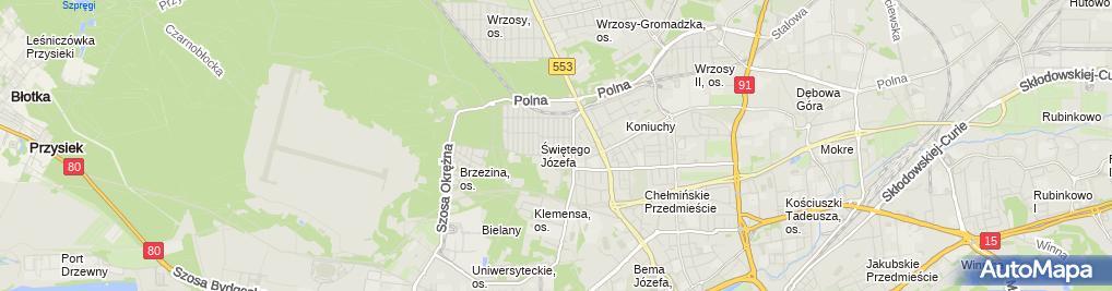 Zdjęcie satelitarne Witold Krzyżniewski