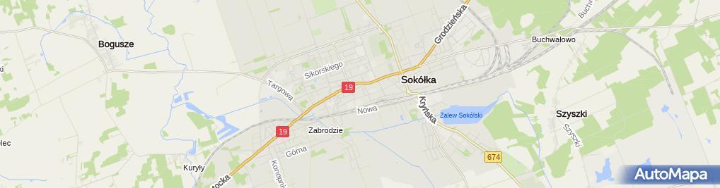 Zdjęcie satelitarne Witold Kurczewski - Działalność Gospodarcza