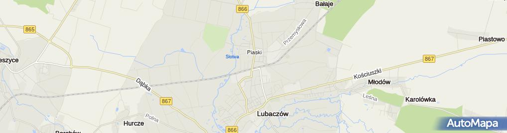 Zdjęcie satelitarne Witold Mazurek Witpol Import-Eksport