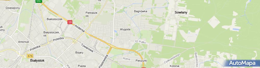 Zdjęcie satelitarne Wkręt Met Przedstawiciel Regionalny Olsztyn Zarian Sadowski