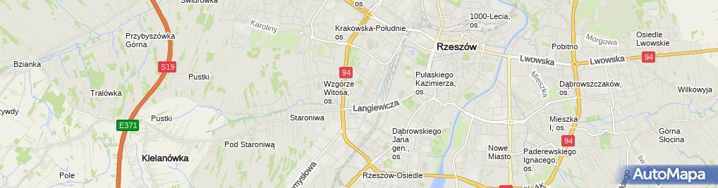 Zdjęcie satelitarne Władysława Sylwestrow - Działalność Gospodarcza