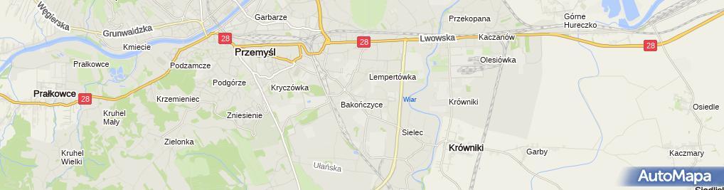 Zdjęcie satelitarne Wojciech Chruścicki Buddom Przedsiębiorstwo Wielobranżowe