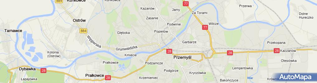 Zdjęcie satelitarne Wojciech Duszewski Zakład Złotniczy