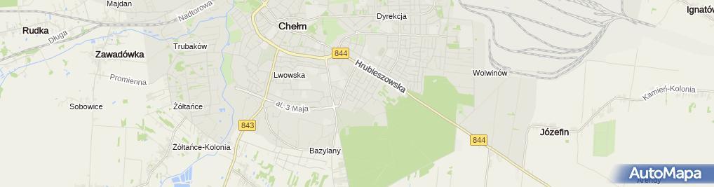 Zdjęcie satelitarne Wojciech Hus