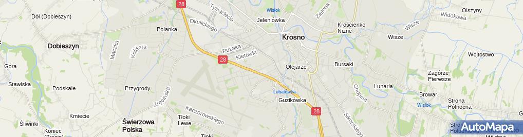 Zdjęcie satelitarne Wojciech Kroczak i Janusz Wójcik Wik Handlowo Produkcyjna
