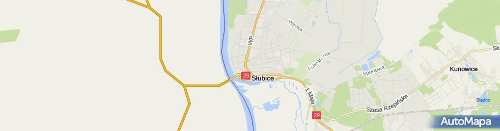 Zdjęcie satelitarne Wojciech Stach - Działalność Gospodarcza